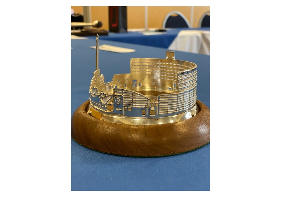 Sheffield Assay Office gift to Chairman designed by Jen Ricketts