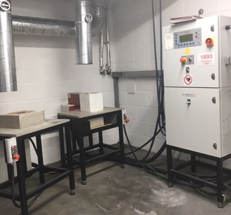 Sheffield Assay Office Custom Built Induction Furnace