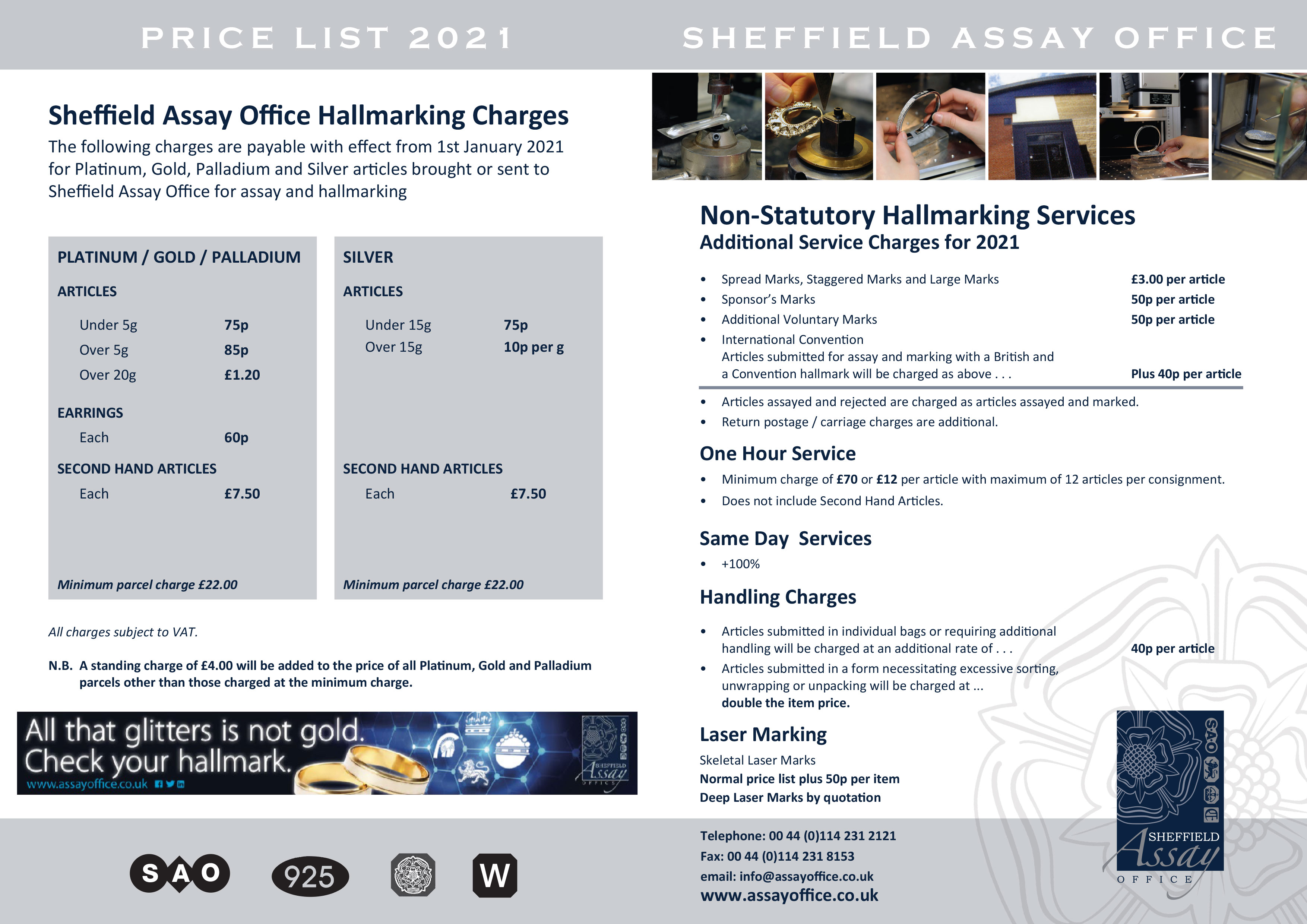 Hallmarking Charges p2